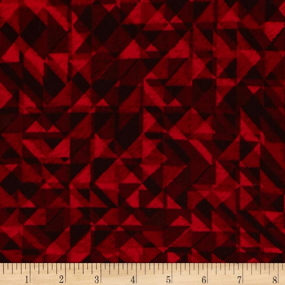 108 In. Quilt Wide Back Prisms Red