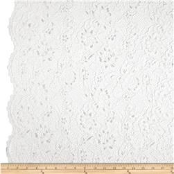 Anais Lace White Fabric