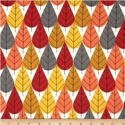 Birch Organic Flannel Charley Harper Octoberama Fall