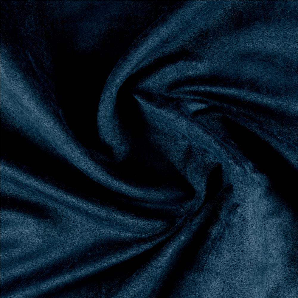 Microsuede navy discount designer fabric for Suede fabric