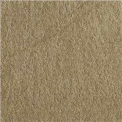 Stretch Cotton Blend Knit Terry Cloth Oatmeal