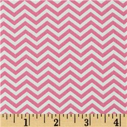Moda Surrounded By Love Chevron Pink/White