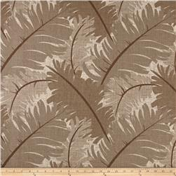 Ansley Home Decor Cotton Duck Palm Brown