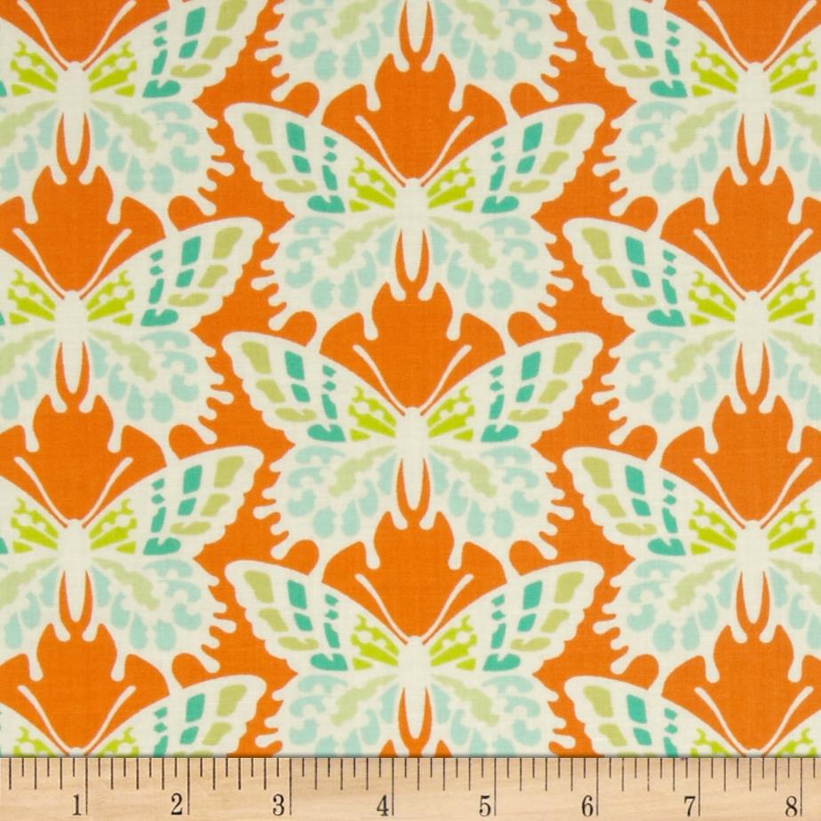 Heather Bailey Clementine Flutterby Tangerine