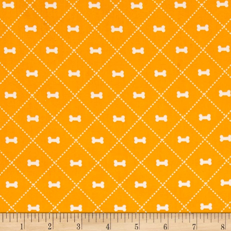 Riley blake rover bone orange discount designer fabric for Fabric purchase