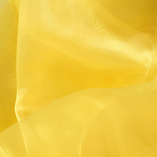 Mirror Organza Bright Gold Fabric