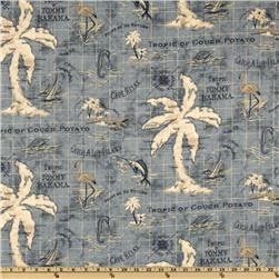 Tommy Bahama Indoor/Outdoor Island Song Ocean Fabric