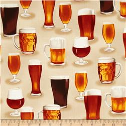 Cheers Beer Glasses Natural