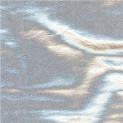 Metallic Spandex Knit Silver Fabric