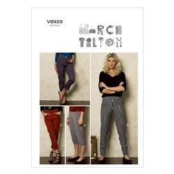 Vogue Misses' Pants Pattern V8929 Size B50