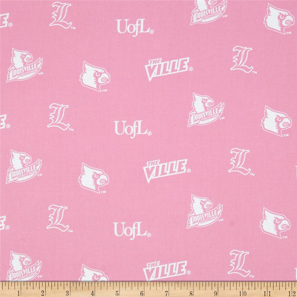 Collegiate Cotton Broadcloth University of Louisville