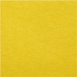 Stretch Rayon Jersey Knit Sunshine Yellow Fabric