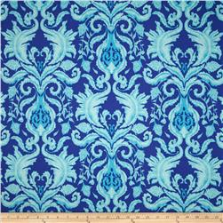 The Garden of Earthly Delights Damask Blue