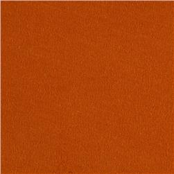 Cotton Jersey Knit Solid Burnt Orange
