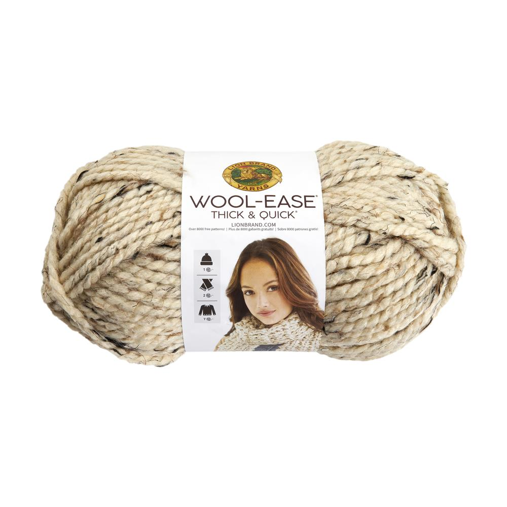 Lion Brand Wool-Ease Thick & Quick Yarn (123)