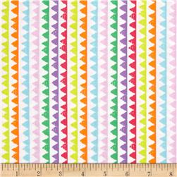 Michael Miller Novelties Zipper Stripe Brite