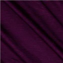 Rayon Slub Jersey Knit Royal Purple