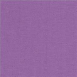 Kona Cotton Wisteria Purple Fabric