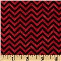 Heart Strings Small Chevron Red/Brown