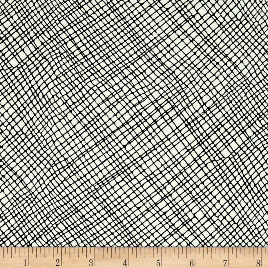 Moda Thicket Crosshatch Natural/Black