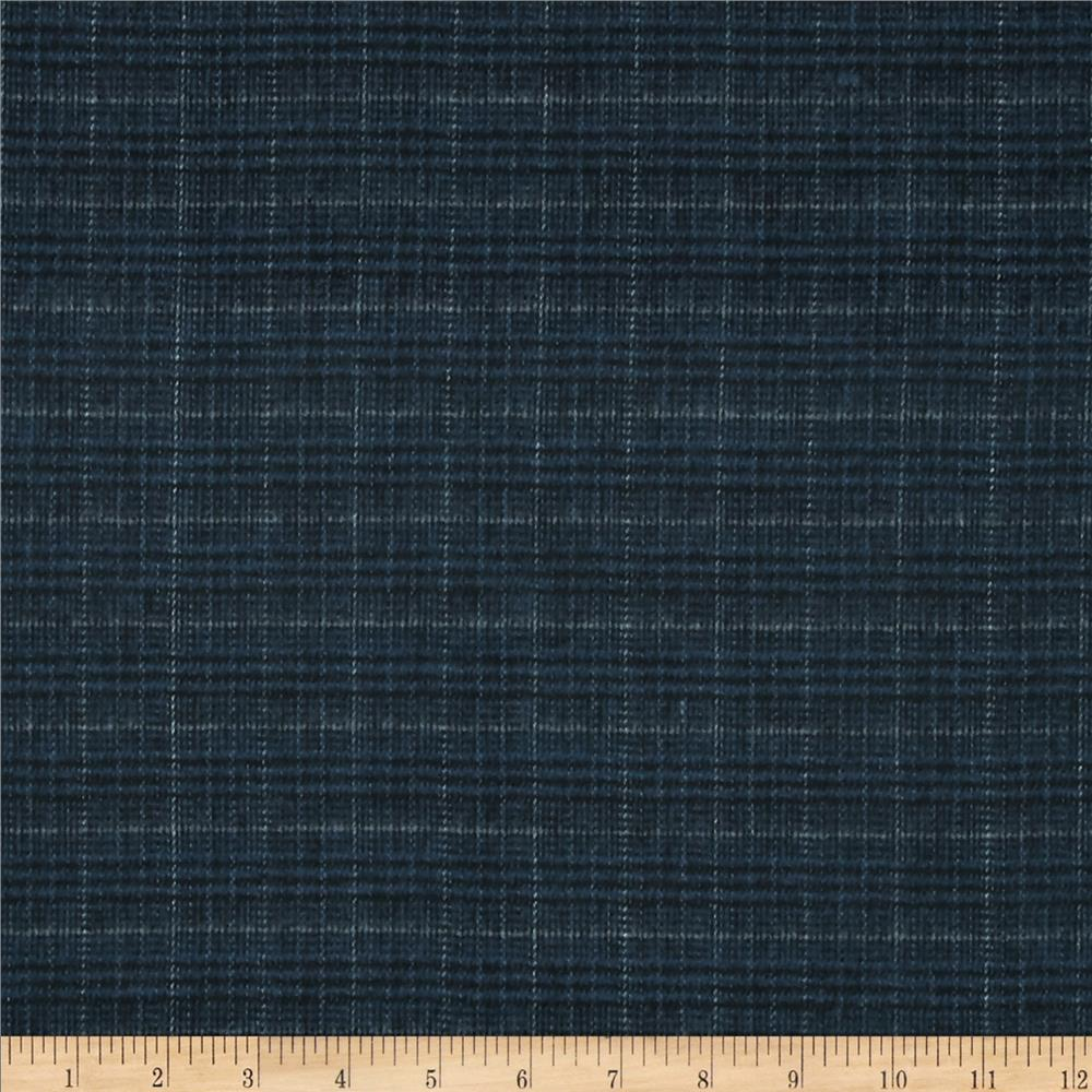 primo plaids flannel plaid glan navy discount designer. Black Bedroom Furniture Sets. Home Design Ideas