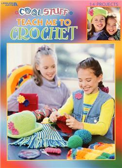 "Leisure Arts ""Cool Stuff Teach Me to Crochet"" Book"