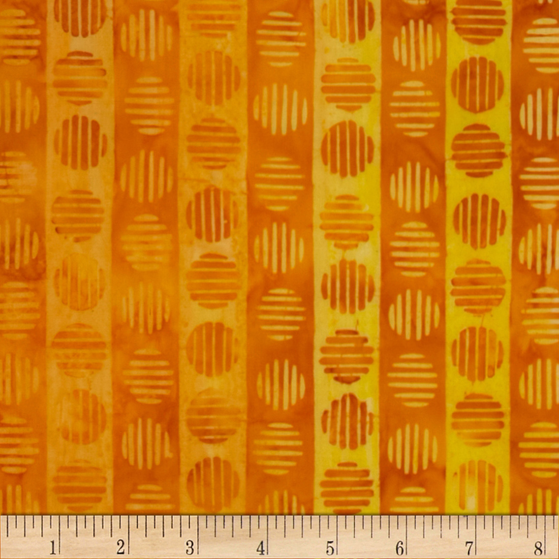 Artisan Batik Geoscapes 3 Sun Stripe Sunburst Fabric