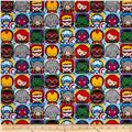 Marvel Kawaii Character Tiles Multi