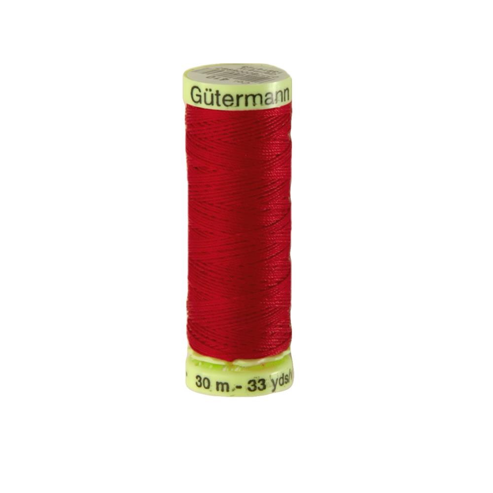 Gutermann Heavy Duty Polyester Topstitching Thread 30m/33yds Scarlet