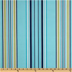 Suburban Home Indoor/Outdoor Brazabon Stripe Blueberry