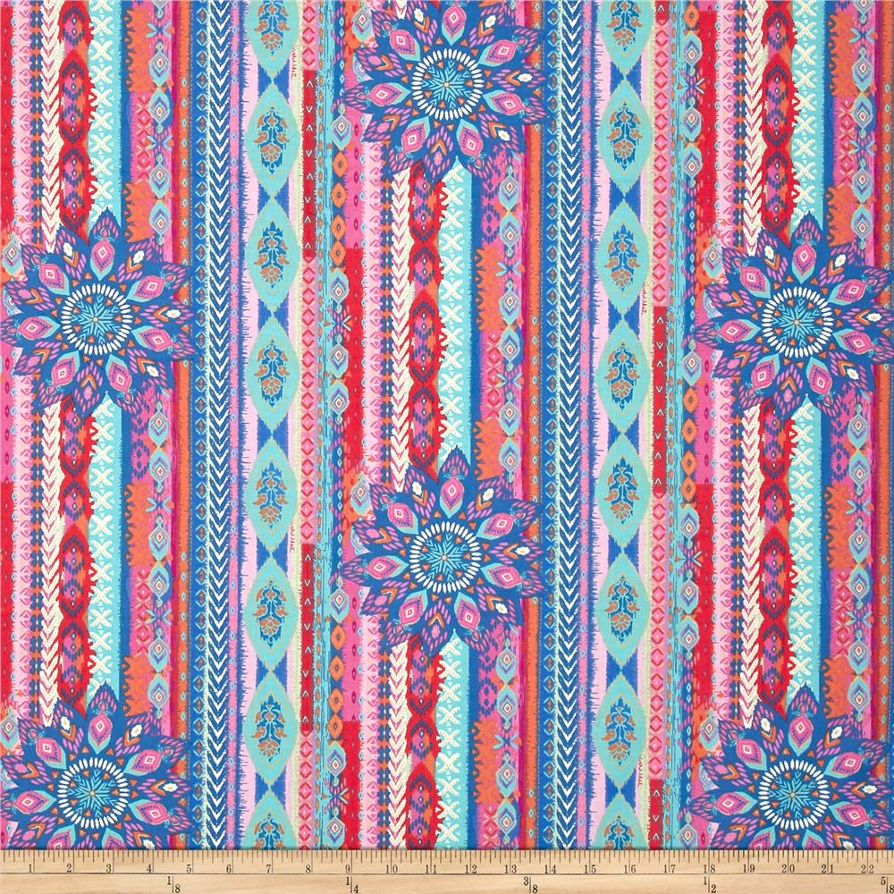 Esmerelda Aztec Feather Stripe Multi