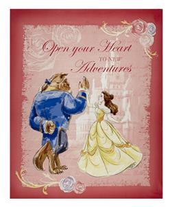 "Disney Beauty and the Beast Beauty and the Beast Waltz 24"" Panel Mutli"