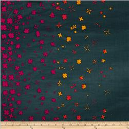 Alyson Glass Hand Dye Batiks Petals Grey