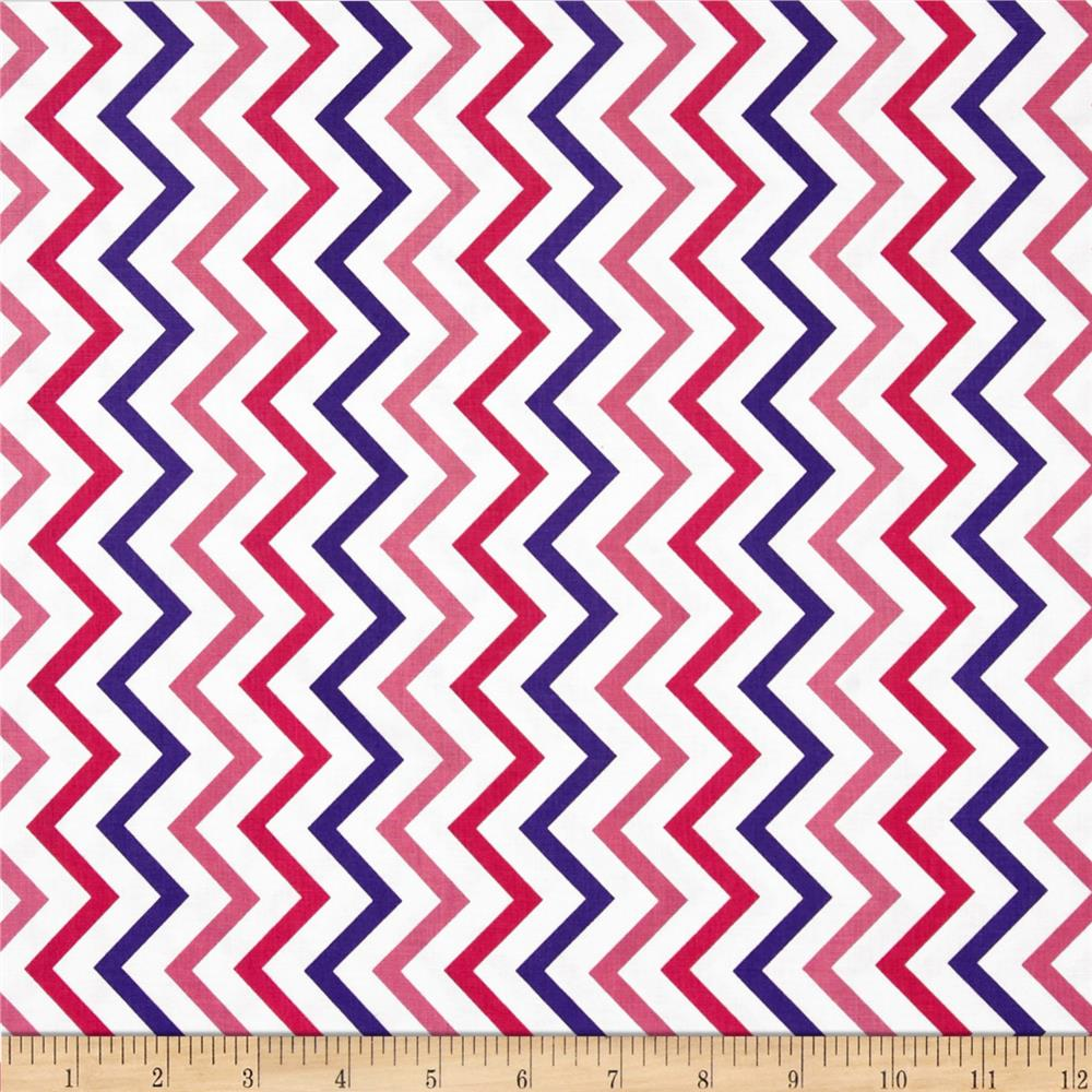 Michael Miller Mini Chic Chevron Princess