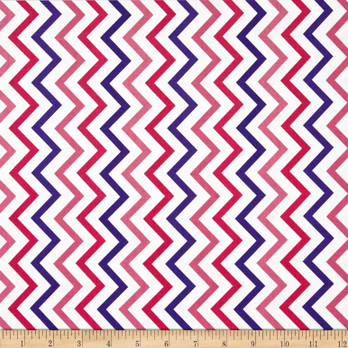 Michael Miller Mini Chic Chevron Princess Fabric
