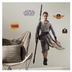 Star Wars Ep VII Rey Giant Wall Decal