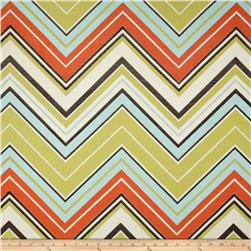 Claridge Surf Chevron Jacquard Kiwi