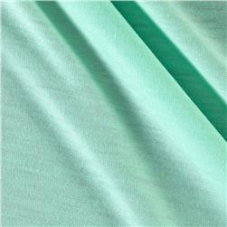 Polyester Jersey Knit Solid Icy Green