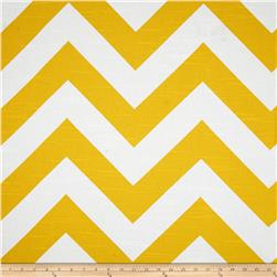 Premier Prints Zippy Slub Corn Yellow