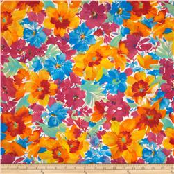 Florist Cotton Poly Broadcloth Multi
