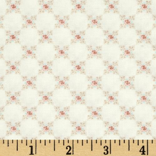 Moda Kindred Spirits Small Rose Ivory
