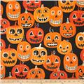 Alexander Henry Haunted House Jolly Jack O'Lanterns Charcoal