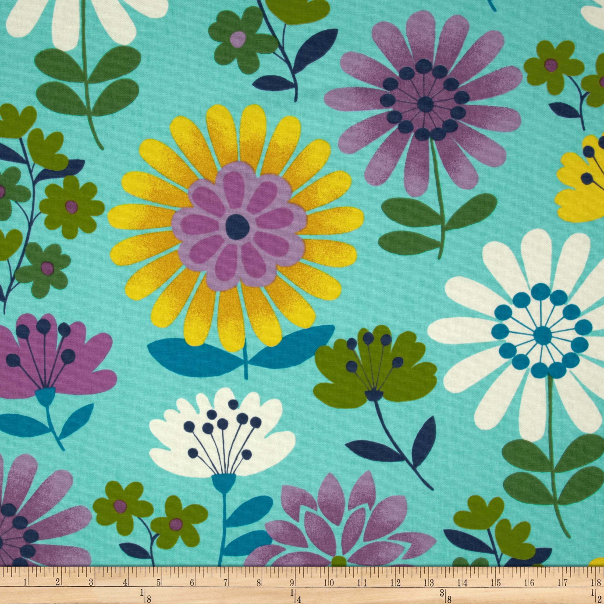 Swavelle/Mill Creek Dorla Aqua Fabric