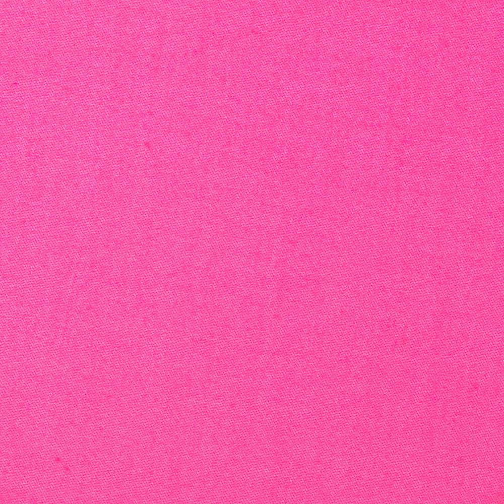 Stretch Cotton Sateen Solid Pink
