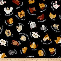 Kaufman Whiskers & Tails My Dog Black