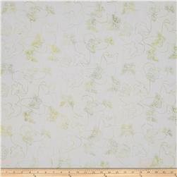 Anthology Batik Print Butterflies Multi/Pastel Green