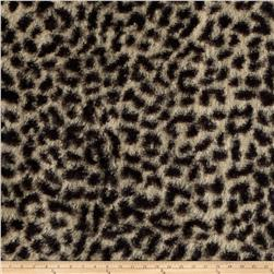 Minky Cheetah Brown/Tan