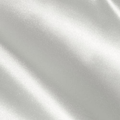 Silky Satin Charmeuse Solid White Fabric