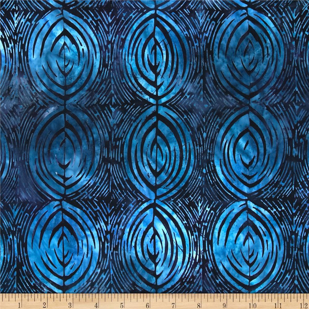 Artisan Batiks Bakari Oval Stripe Evening