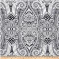 Waverly Paisley Pizzazz Sateen Licorice